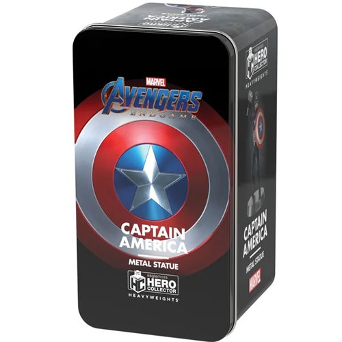 Marvel Movie Collection Avengers: Endgame Captain America Heavyweights Die-Cast Figurine