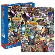 Avengers Comic Collage 1000-Piece Puzzle