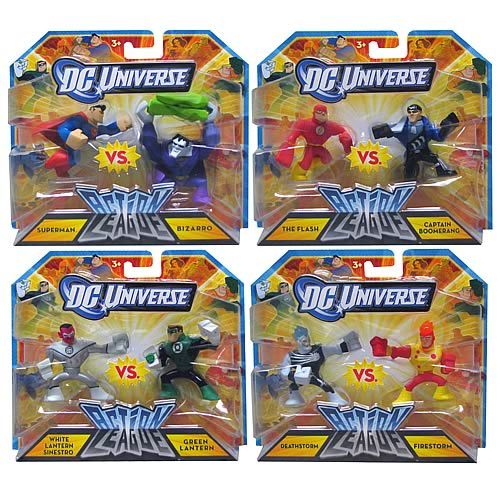 Captain Boomerang Mattel Toys DC Universe Action League Mini Figure 2Pack Flash vs