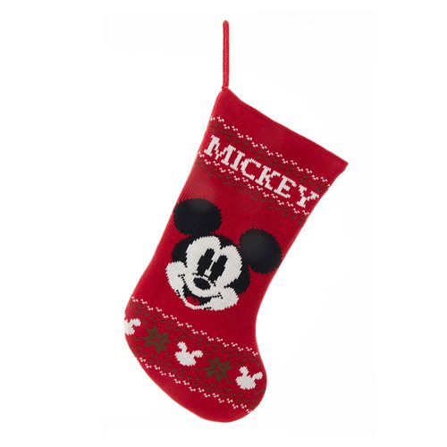 Mickey Mouse 19-Inch Knitted Stocking
