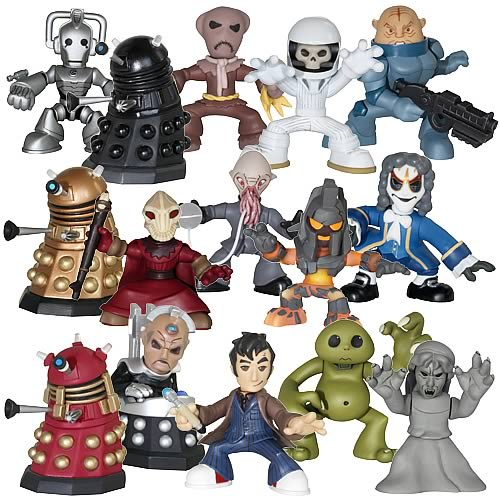 Doctor Who Time Squad 5-Packs Assortment Set
