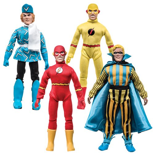 The Flash Series 1 Retro 8-Inch Action Figure Set