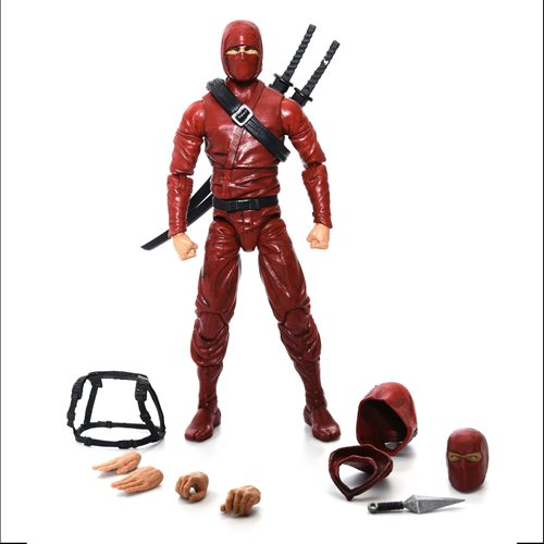 Articulated Icons Clan of the Crimson Fury Ninja 6-Inch Action Figure