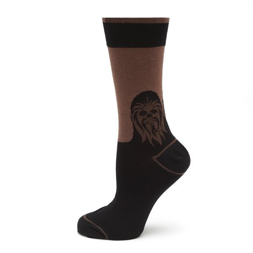 Star Wars Chewbacca Mod Black Socks
