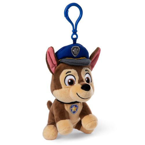 PAW Patrol Chase 4-Inch Plush Backpack Clip