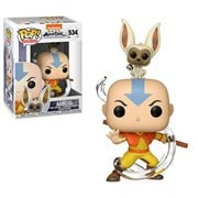 Avatar: The Last Airbender Anng with Momo Pop! Vinyl Figure #534