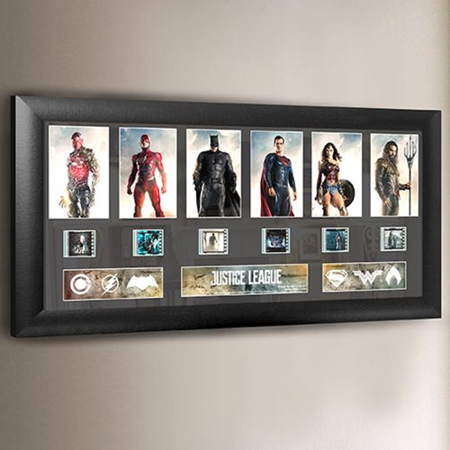 Justice League Series 1 Deluxe Film Cell