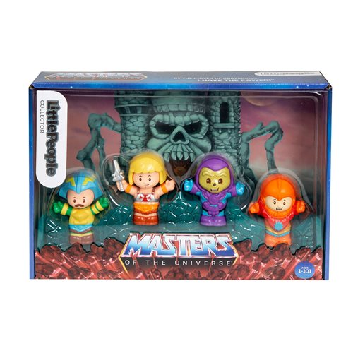 Masters of the Universe Collector Set by Fisher-Price Little People, Not Mint