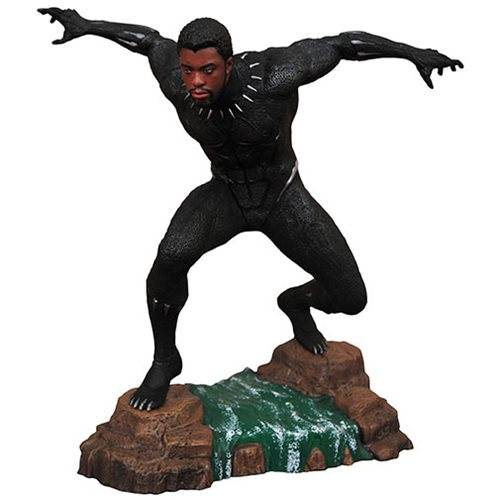 Картинки по запросу Marvel PVC Gallery Statues - Black Panther Movie - Black Panther Unmasked