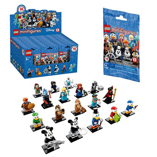 LEGO 71024 Disney Series 2 Mini-Figure Random 10-Pack