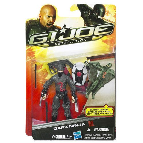 G.I. Joe Retaliation Dark Ninja Action Figure, Not Mint