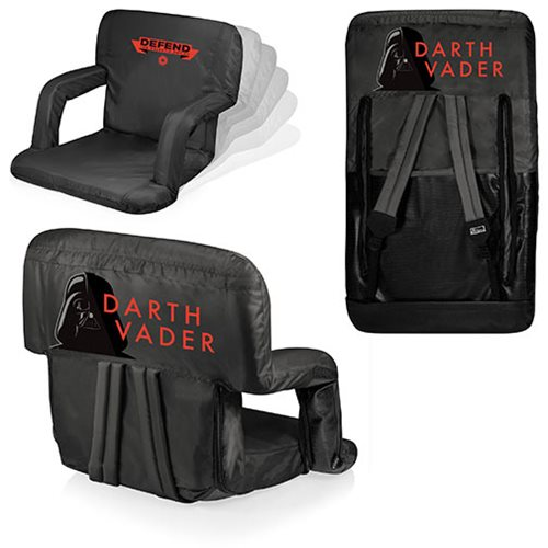 Star Wars Darth Vader Ventura Portable Reclining Stadium Seat