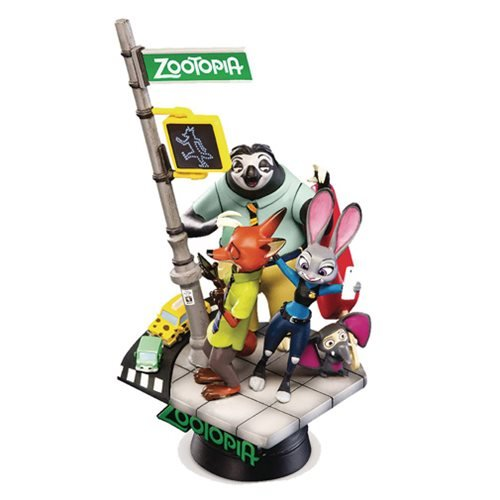 Zootopia D-Select Series DS-001 6-Inch Statue - Previews Exclusive