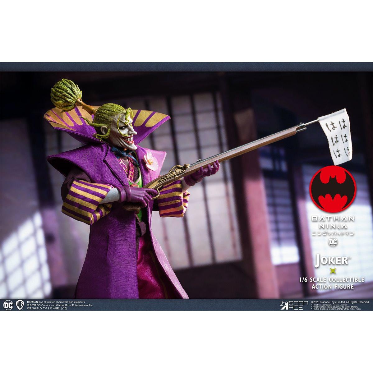 Batman Ninja Joker 1 6 Scale Deluxe Action Figure