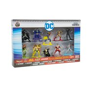 DC Comics Nano Metalfigs Die-Cast Metal Mini-Figures Wave 2 10-Pack