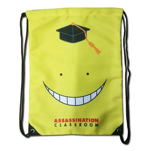 Assassination Classroom Koro Sensei Drawstring Bag