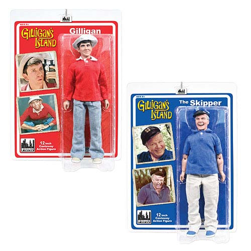 Gilligan's Island Series 1 12-Inch Action Figure Set