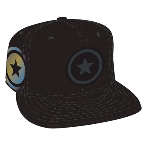 Captain America Shield Side Flect Snap Back Cap