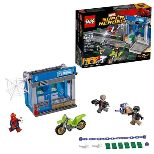 LEGO Spider-Man 76082 Marvel Spider-Man ATM Heist Battle