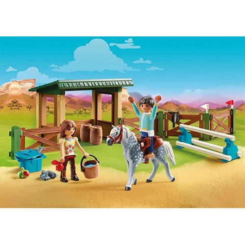 Playmobil 70119 Riding Arena with Lucky & Javier