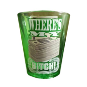 Breaking Bad Where's My Money Shot Glass