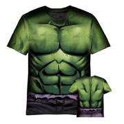 Hulk Sublimated Costume T-Shirt