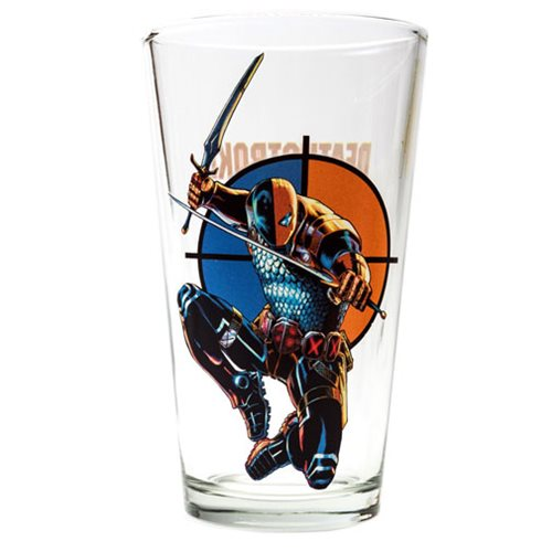 DC Comics Deathstroke Toon Tumbler Pint Glass