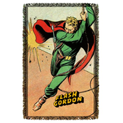 Flash Gordon Space Woven Tapestry Throw Blanket