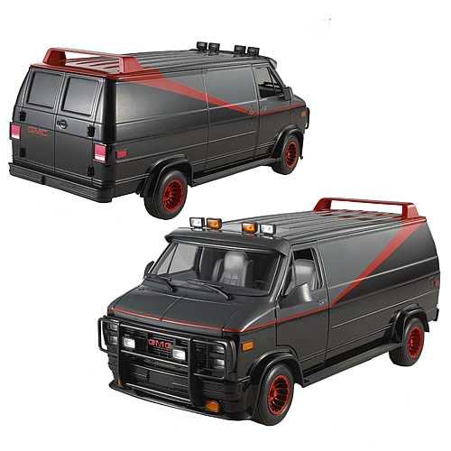 A-Team Classic Van Hot Wheels Heritage 1:18 Scale Vehicle