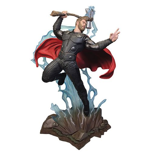 Marvel Movie Milestones Avengers: Infinity War Thor Resin Statue