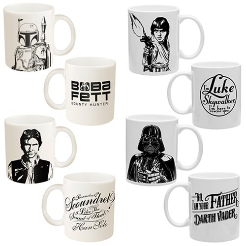 Star Wars Classic Ceramic Mug Set