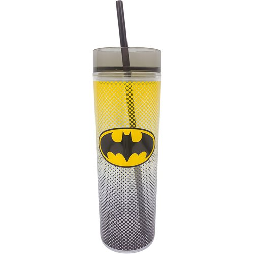 Batman 16 oz. Tall Cup with Straw