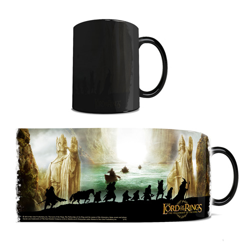 Lord of the Rings The Fellowship of the Ring Morphing Mug