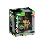 Playmobil 70171 Ghostbusters Collector's Edition 6-Inch Winston Zeddemore Action Figure, Not Mint