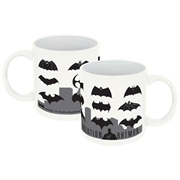 Batman Logo Evolution 20 oz. Ceramic Mug