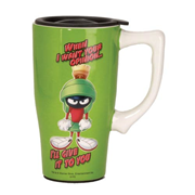 Looney Tunes Marvin the Martian 18 oz. Ceramic Travel Mug with Handle
