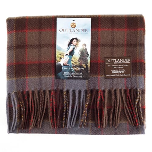 Outlander Fraser Lambswool Stole