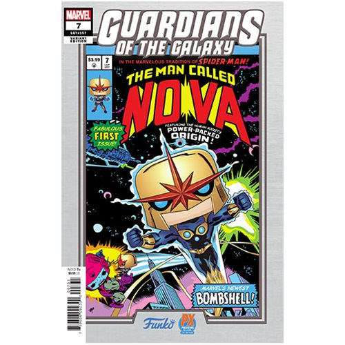 Marvel Guardians of the Galaxy Nova Prime Pop! Vinyl Figure - Previews Exclusive with Variant Comic