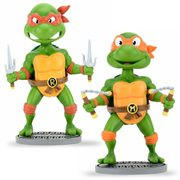 TMNT Michelangelo and Raphael Bobble Head Set