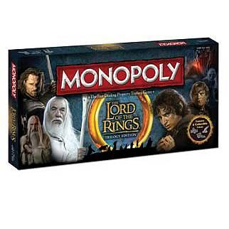 The Lord of the Rings Trilogy Edition Monopoly