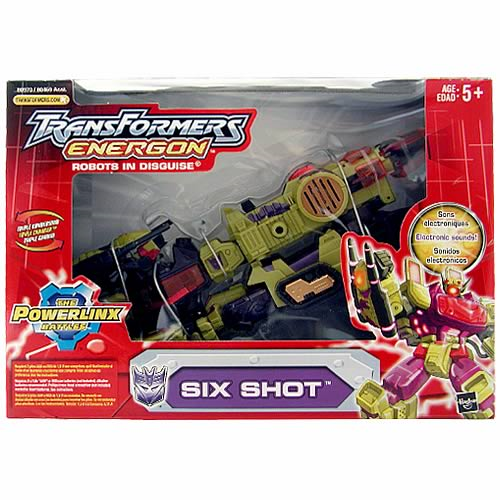 Transformers Energon Six Shot
