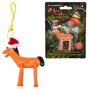 Gumby and Friends Pokey Figural Christmas Tree Ornament