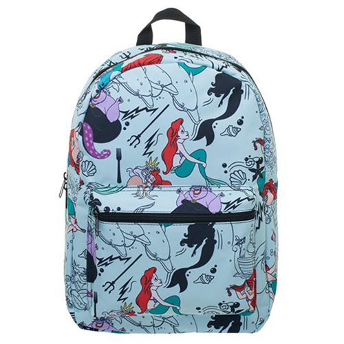 fdfdb46815b The Little Mermaid Print Blue Backpack. New Pre-Orders Apr 08. Skip to  image 1  Skip to image 2  Skip to image 3 ...