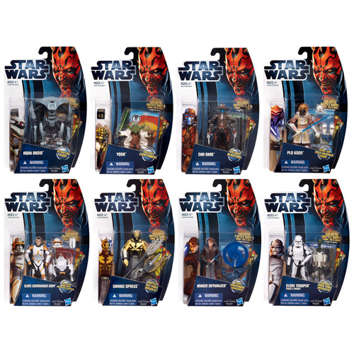 Star Wars Clone Wars 2012 Action Figures Wave 4 Revision 3