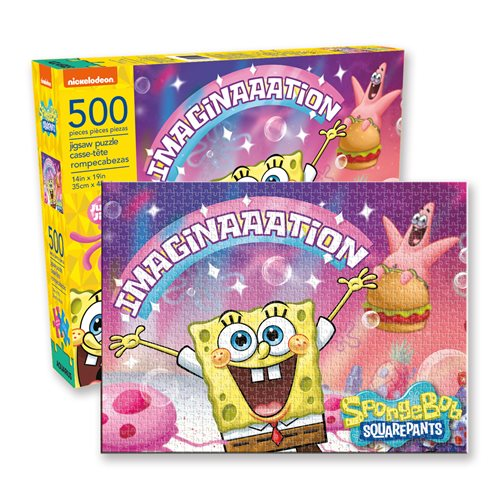 SpongeBob SquarePants Imagination 500-Piece Puzzle