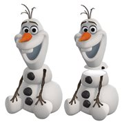 Frozen Olaf Sculpted Ceramic Cookie Jar, Not Mint