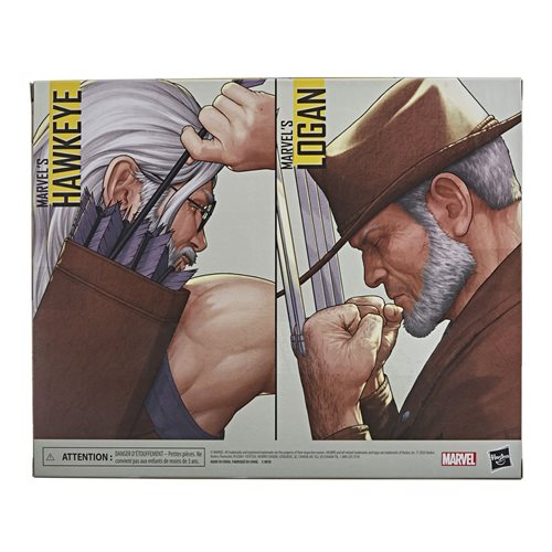 X-Men Marvel Hawkeye and Logan 6-Inch Action Figure 2-Pack