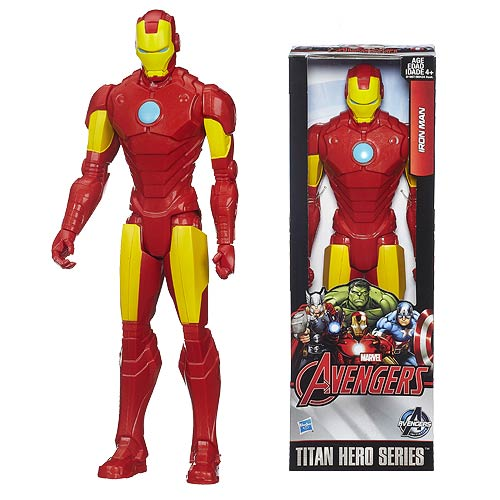 Avengers: Age of Ultron Titan Hero Series Iron Man 12-Inch Action Figure