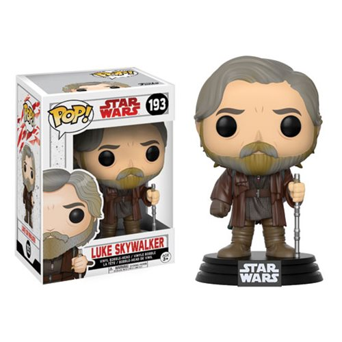 Star Wars: The Last Jedi Luke Skywalker Pop! Vinyl Bobble Head #193