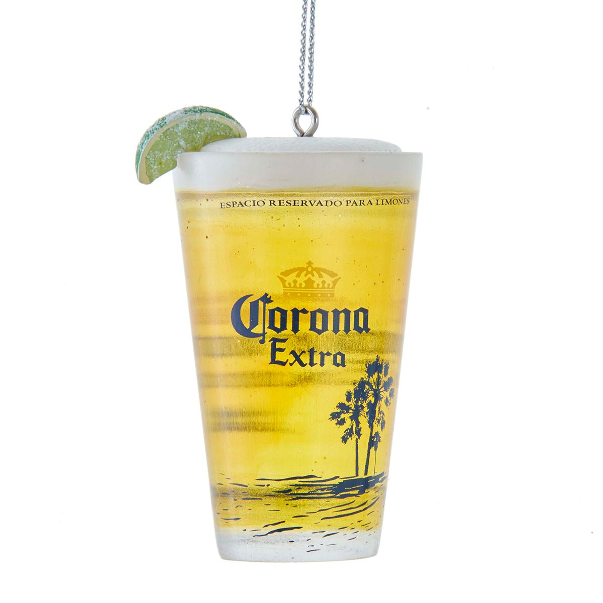 Corona Cup With Lime 3 Inch Resin Ornament Entertainment Earth